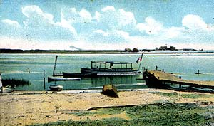 Inlet boat launch circa 1907