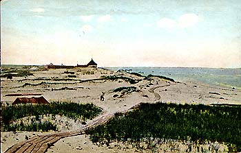 Dunes to the Inlet, 1918