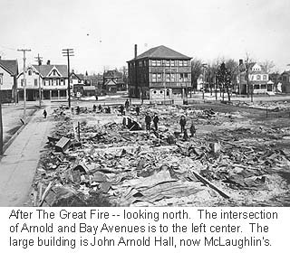 Great Fire aftermath